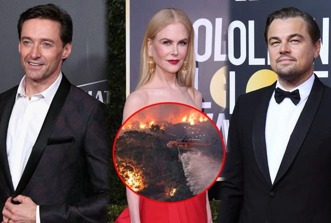 Leonardo Dicaprio và sao quốc tế kêu gọi ủng hộ Úc vì thảm hoạ cháy rừng