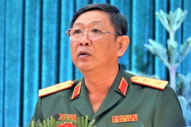 Trung tướng Huỳnh Chiến Thắng. Ảnh: Thành ủy Cần Thơ.