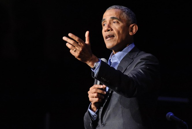 Cựu Tổng thống Mỹ Barack Obama.