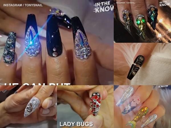 Bạn đã xem chưa: Những mẫu nail của thời đại... 4.0