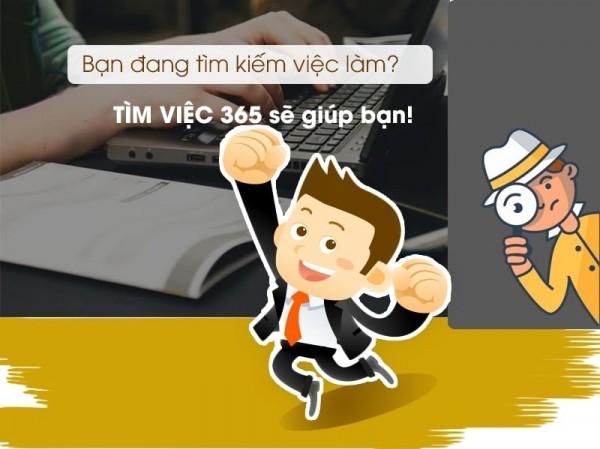 Tìm việc làm thêm nhanh chóng, hiệu quả trên timviec365.vn