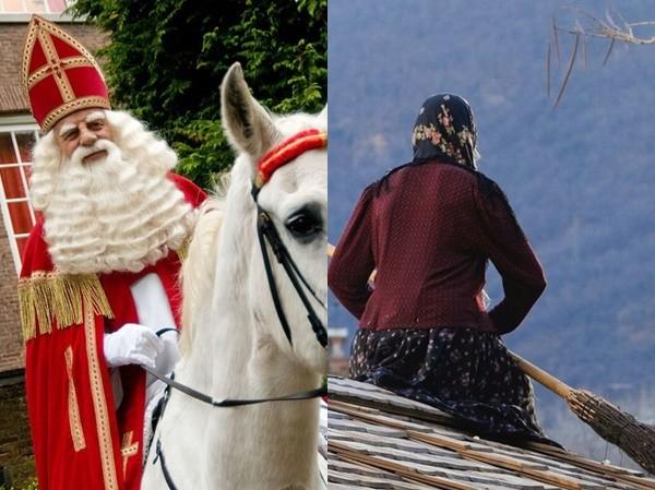 Ông già Noel ma quỷ và những kiểu đón Giáng sinh lạ nhất