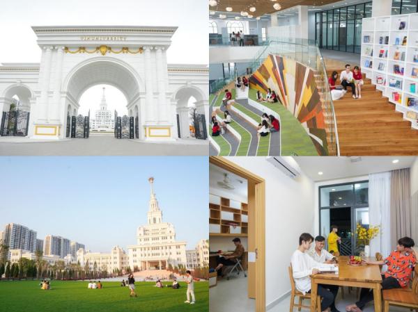 Cận cảnh trường Đại học VinUni: Xịn xò chẳng khác nào những ngôi trường ở châu Âu