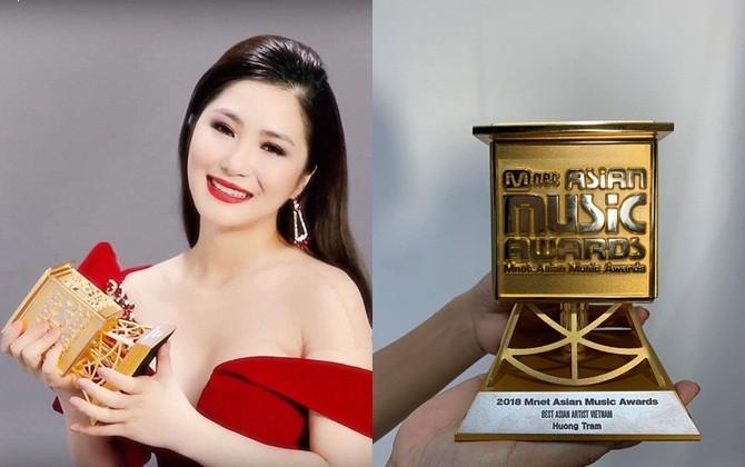 """Nữ ca sĩ Hương Tràm đoạt giải """"Best Asian Artist"""" tại """"MAMA 2018"""""""