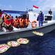 Ba tàu Trung Quốc đến Indonesia giúp vớt xác tàu ngầm đắm