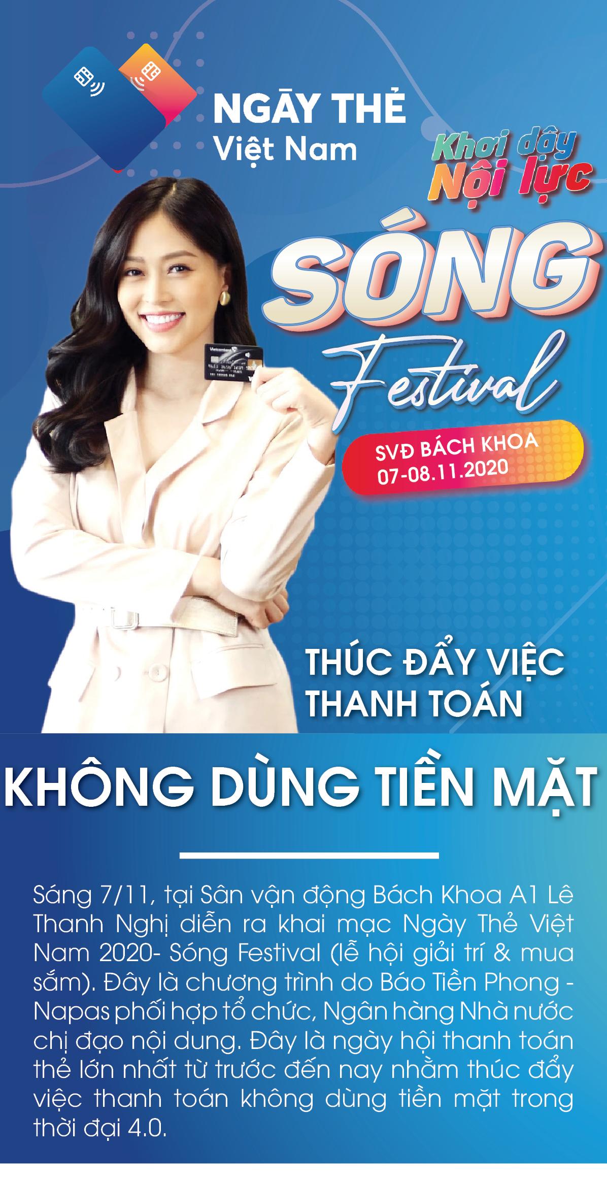 Ngày Thẻ Việt Nam 2020 - Thúc đẩy việc thanh toán không dùng tiền mặt