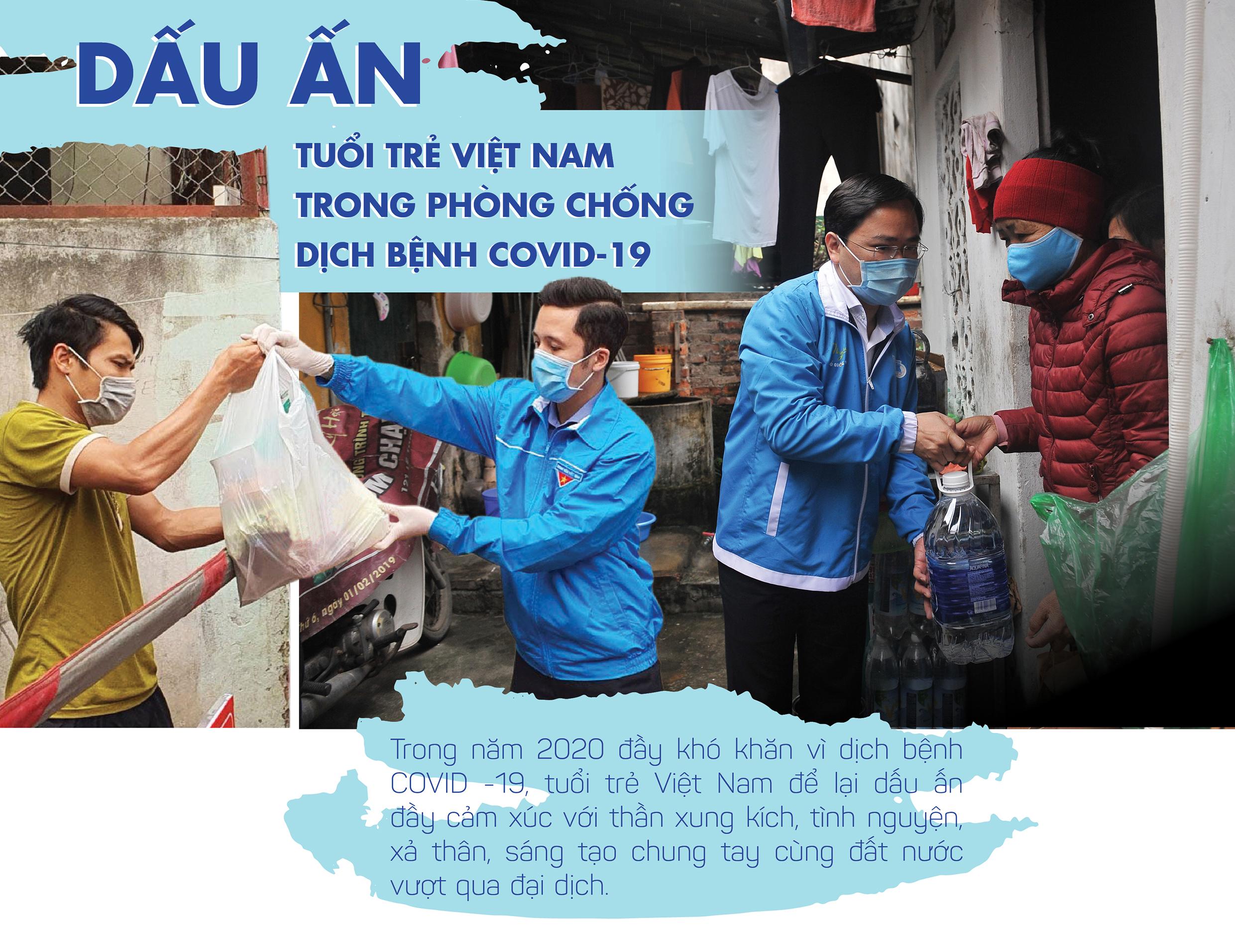 Dấu ấn Tuổi trẻ Việt Nam trong phòng chống dịch COVID-19