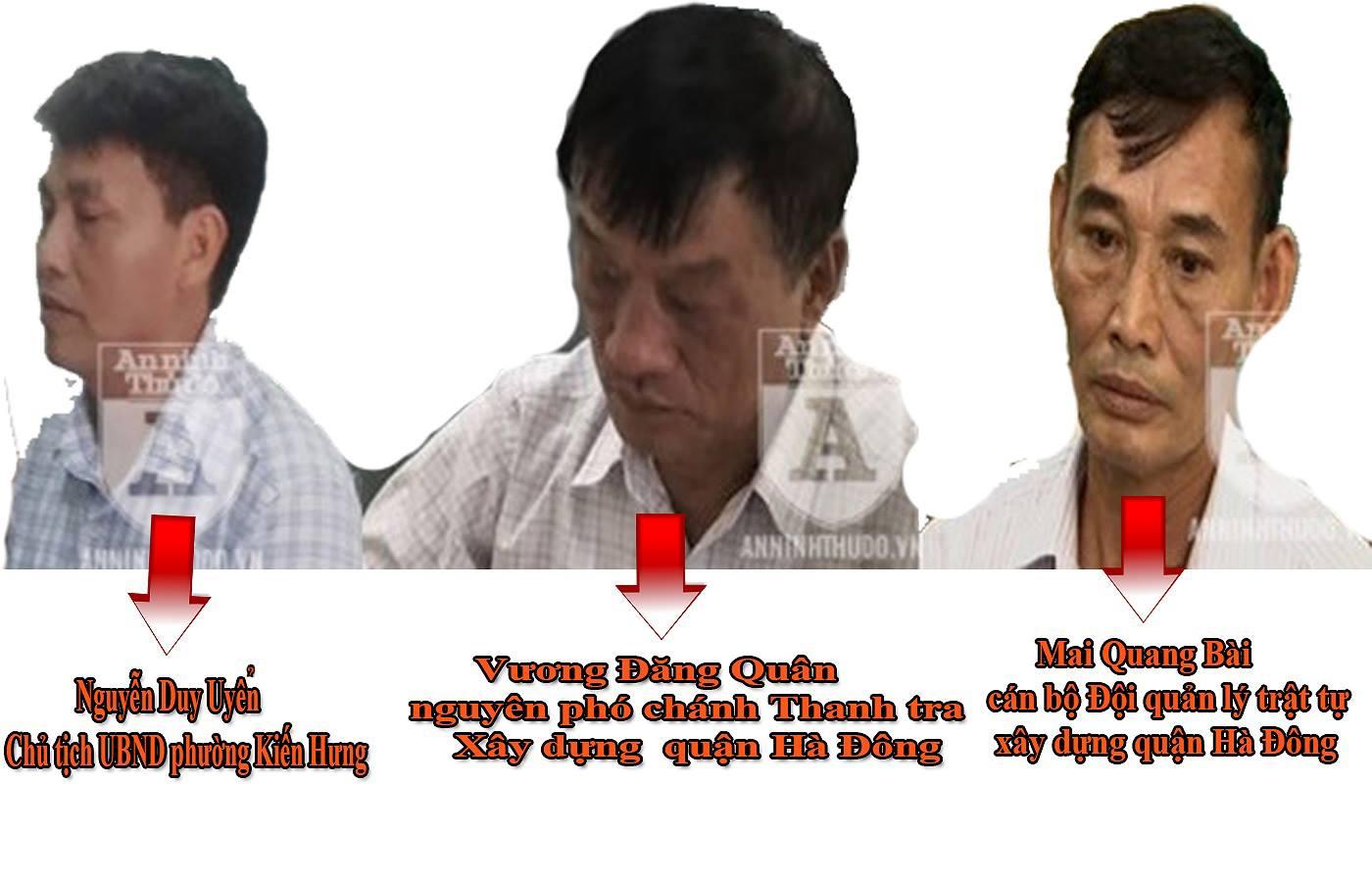 Những cán bộ bị bắt giam, kỷ luật vì sai phạm xây dựng tại Hà Nội - ảnh 2