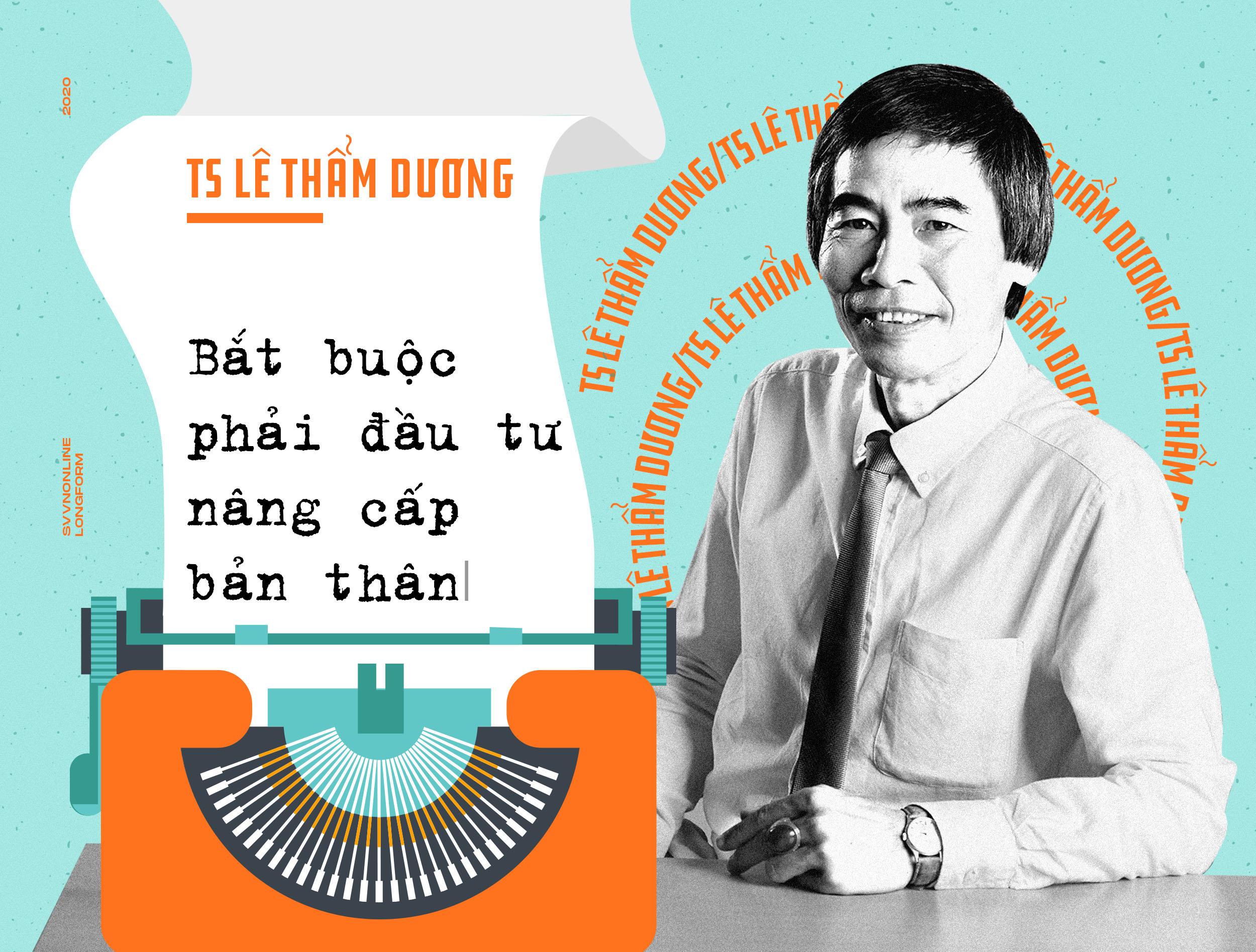 TS Lê Thẩm Dương: Bắt buộc phải đầu tư nâng cấp bản thân
