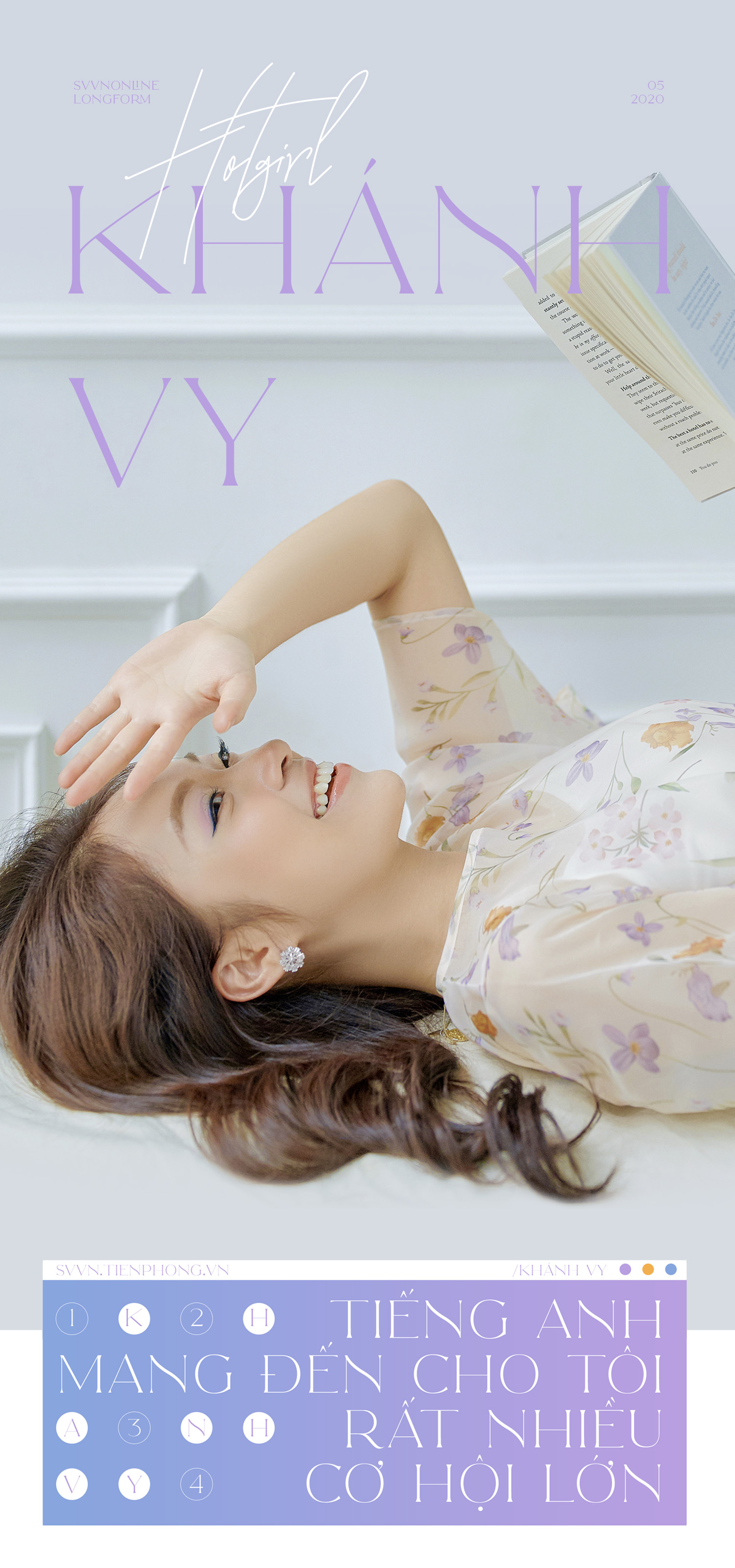 Hotgirl Khánh Vy: Tiếng Anh mang đến cho tôi rất nhiều cơ hội lớn