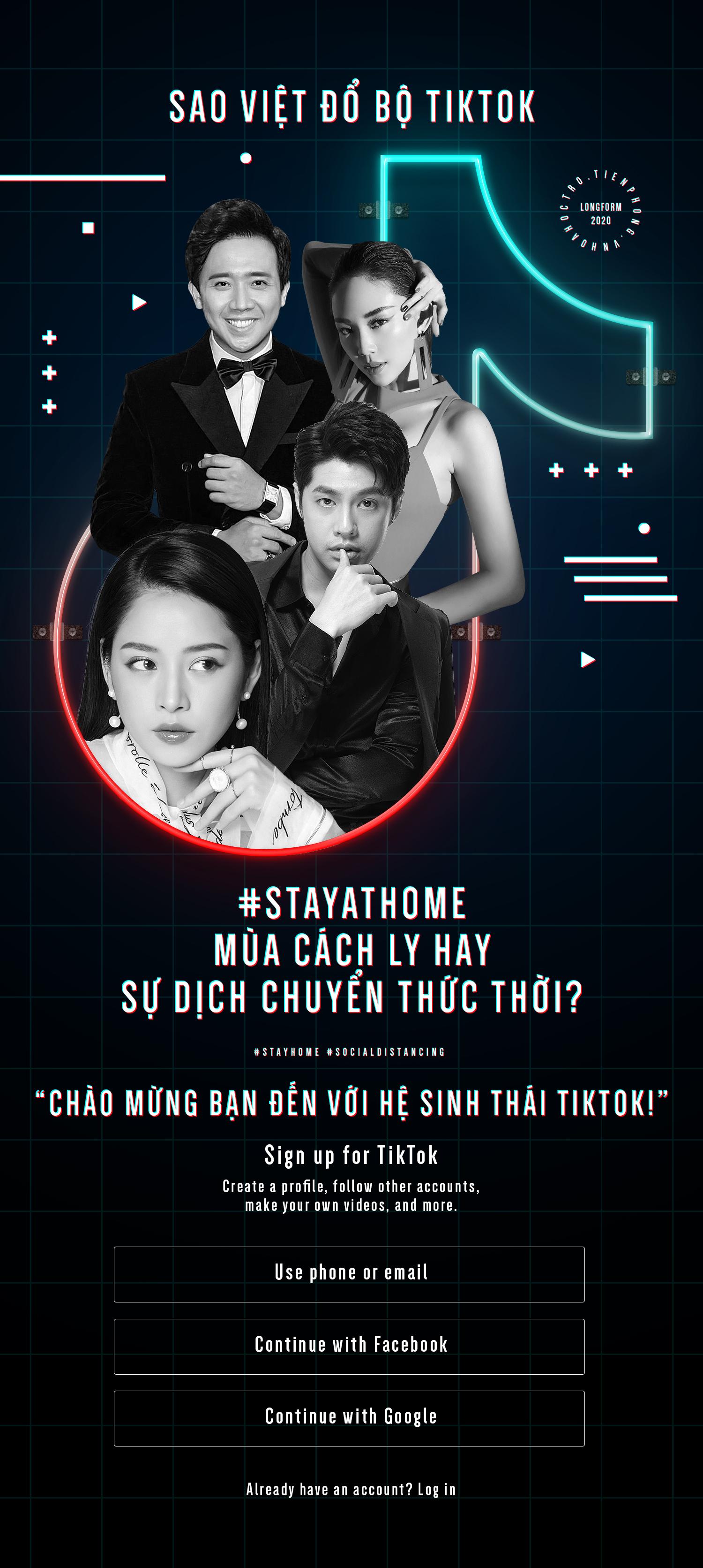 """Sao Việt đổ bộ TikTok: Chống """"ế show"""" mùa cách ly hay sự dịch chuyển thức thời?"""