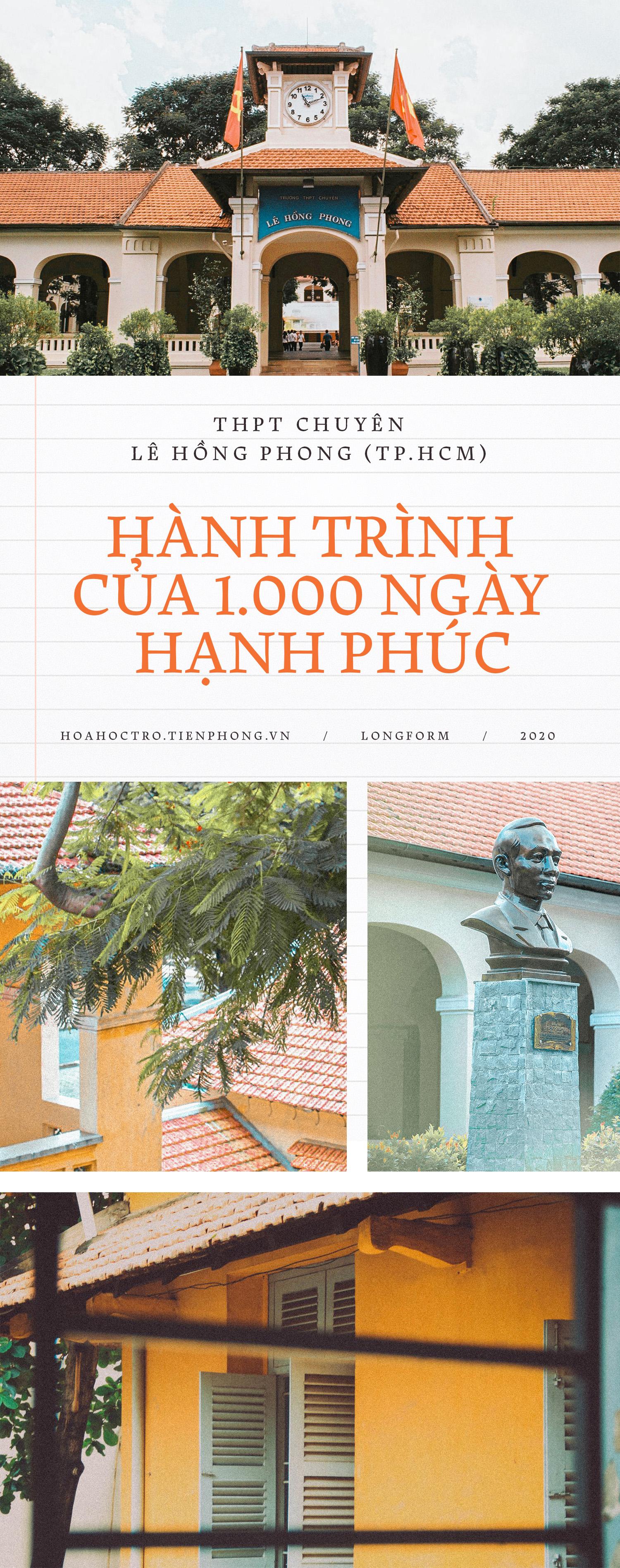 THPT chuyên Lê Hồng Phong (TP.HCM): Hành trình của 1.000 ngày hạnh phúc