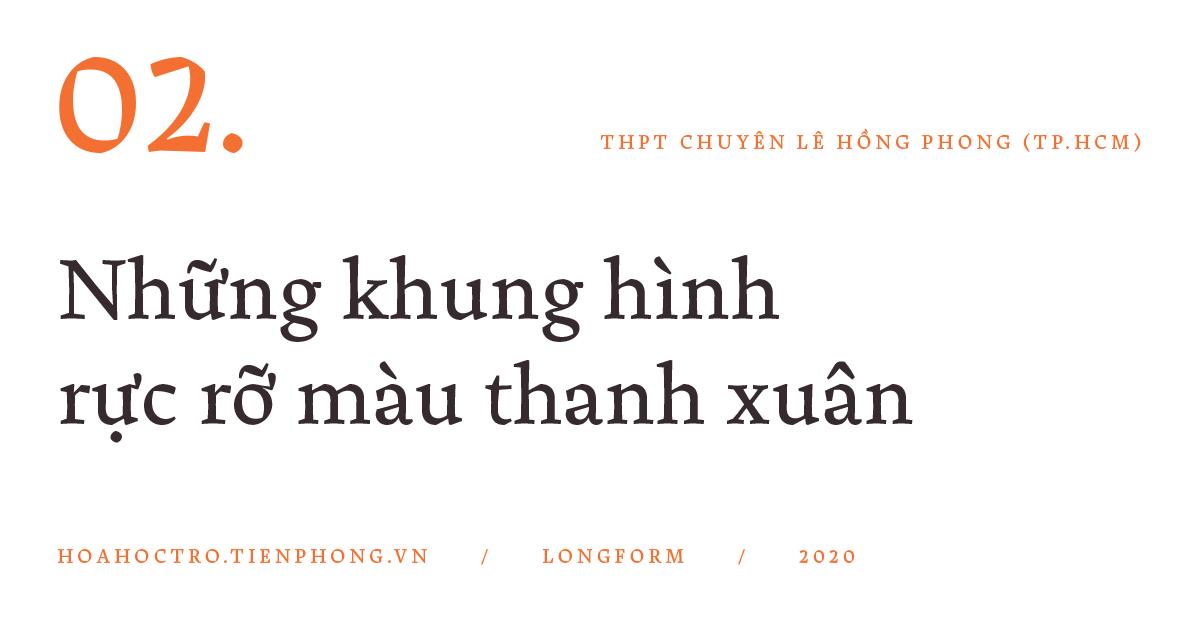 THPT Chuyên Lê Hồng Phong (TP.HCM): Hành trình của 1.000 ngày hạnh phúc - ảnh 4