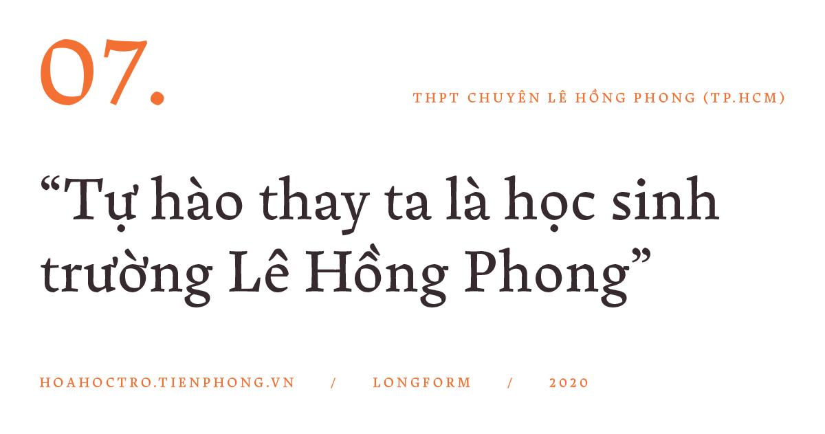 THPT Chuyên Lê Hồng Phong (TP.HCM): Hành trình của 1.000 ngày hạnh phúc - ảnh 21