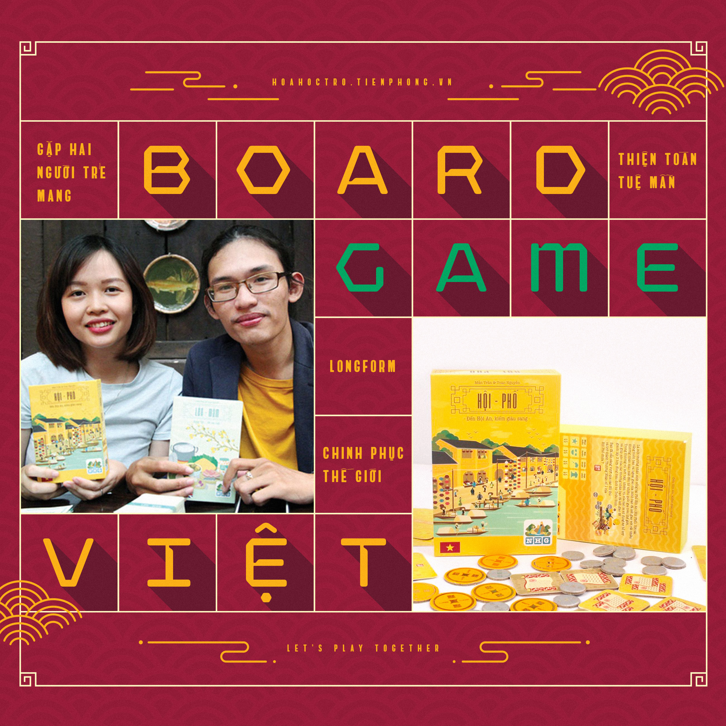 Gặp Tuệ Mẫn & Thiện Toàn - hai người trẻ mang board game Việt chinh phục thế giới