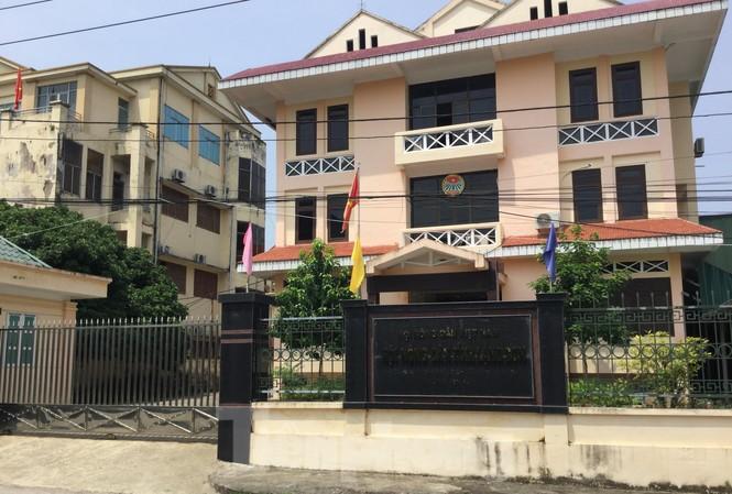 Trụ sở Hội Nông dân tỉnh, nơi cựu Chủ tịch Hội và kế toán Hội Nông dân tỉnh Lạng Sơn lập những chứng từ khống, bòn rút tiền ngân sách .Ảnh: Duy Chiến