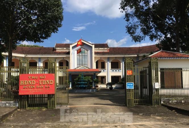 Ảnh: Trụ sở của UBND huyện Đăk Hà