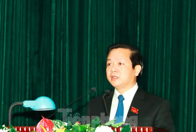 Ông Phạm Quang Ngọc được bầu làm Chủ tịch UBND tỉnh Ninh Bình - Ảnh: Hoàng Long