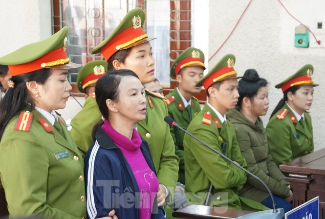 Trần Thị Hiền bị đề nghị nhận hình phạt 20 năm tù.