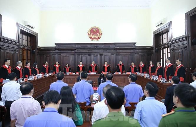 Toàn cảnh phiên giám đốc thẩm vụ Hồ Duy Hải.
