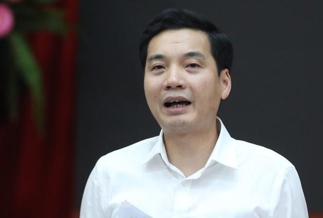 Giám đốc Sở Tài chính Hà Nội Nguyễn Việt Hà. Ảnh: Hoàng Mạnh Thắng