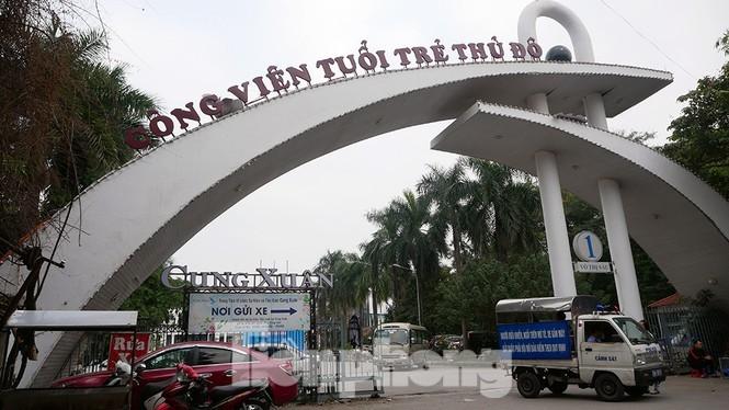 Công viên Tuổi trẻ Thủ đô phát sinh nhiều vấn đề bức xúc trong nhiều năm