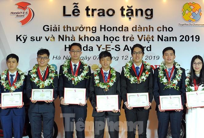 10 kỹ sư, nhà khoa học trẻ nhận giải thưởng Honda Y-E-S