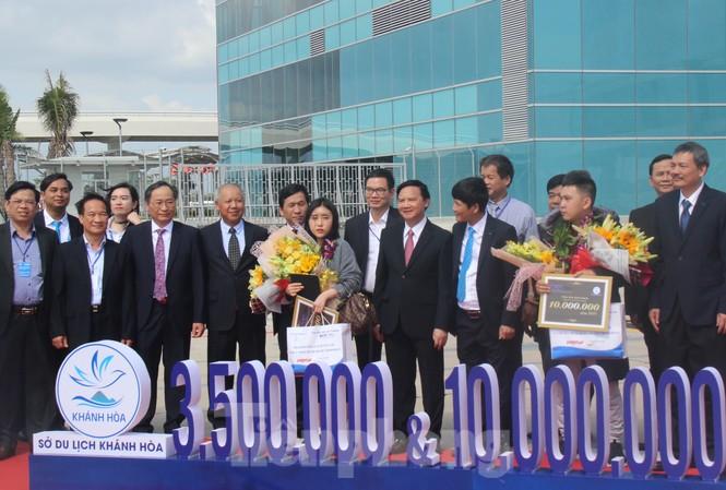 Khánh Hoà đón vị khách du lịch quốc tế thứ 3,5 triệu