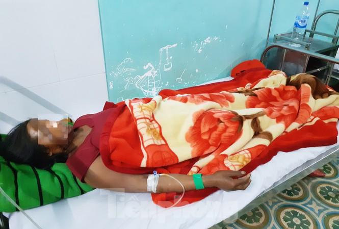Một trường hợp gặp nạn đang được điều trị tại bệnh viện