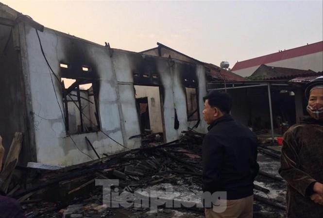 Hiện trường vụ hỏa hoạn Ảnh: Duy Chiến