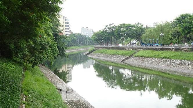 Quyết tâm làm hồi sinh sông Tô Lịch  nằm trong danh sách đề cử