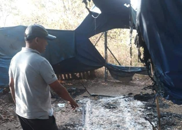 Một 'hiệp sĩ' Bình Dương bị giang hồ truy sát, đốt xe trong đêm