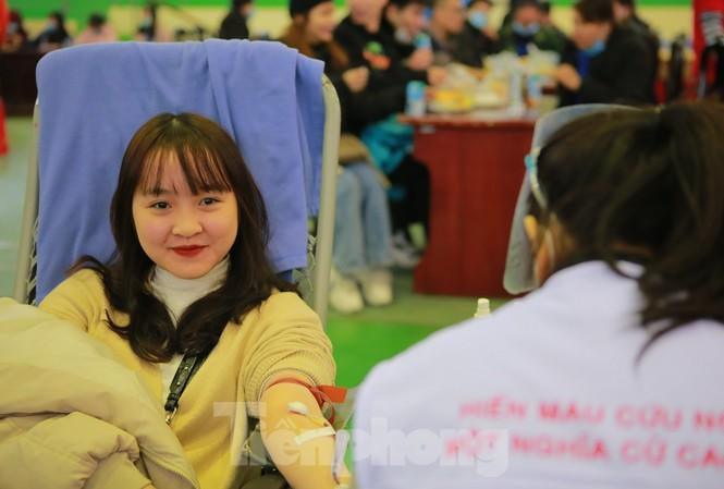 Các bạn trẻ tỉnh Bắc Ninh hào hứng tham gia Chủ nhật Đỏ