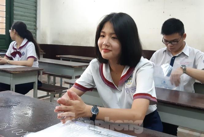 Thí sinh dự thi THPT Quốc gia tại TPHCM