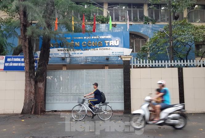 Trường THPT Nguyễn Công Trứ, TPHCM nơi xảy ra vụ việc