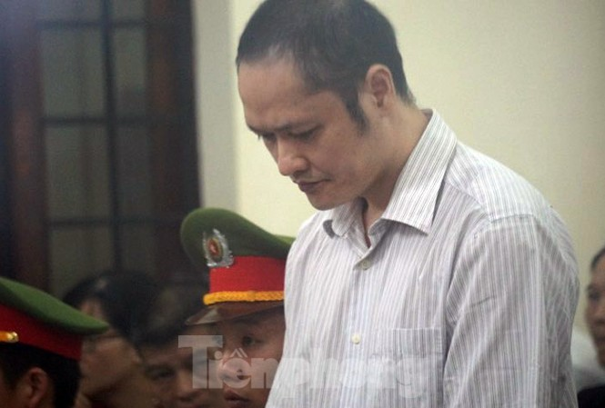 Bị cáo Vũ Trọng Lương tại tòa.