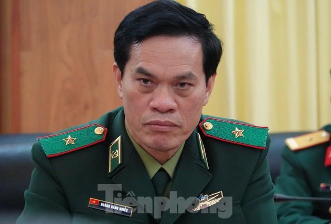 Thiếu tướng Hoàng Đăng Nhiễu, Phó Tư lệnh Bộ đội Biên phòng. Ảnh: Nguyễn Minh