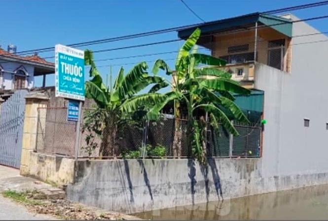 Quầy thuốc kiêm nhà riêng của Phan Văn Lợi, nơi xảy ra vụ dâm ô trẻ em - Ảnh: Hoàng Long