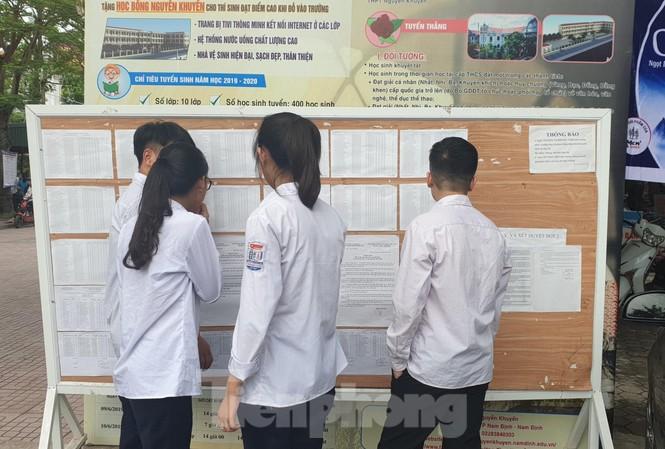 Thí sinh Nam Định đạt tỷ lệ tốt nghiệp THPT Quốc gia cao nhất toàn quốc - Ảnh: Hoàng Long