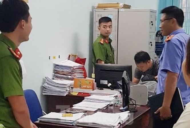 Bệnh viện Đa khoa tỉnh Thái Bình bị kẻ trộm đột nhập - Ảnh: Hoàng Long