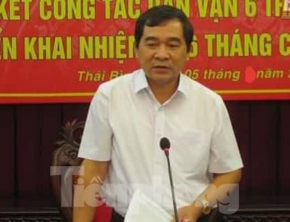 Thái Bình có Phó Bí thư Tỉnh uỷ mới