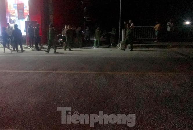 Cống Cổ Lễ, khu vực xảy ra vụ nổ súng - Ảnh: Hoàng Long