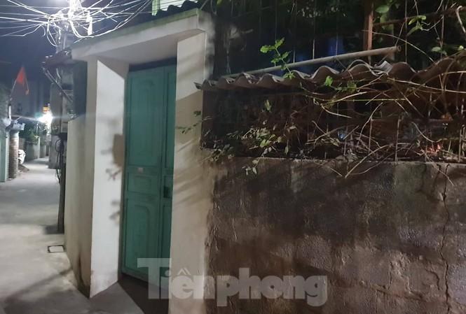 Ngôi nhà xảy ra vụ việc tại xóm Trại, xã Lộc An, thành phố Nam Định - Ảnh: Hoàng Long