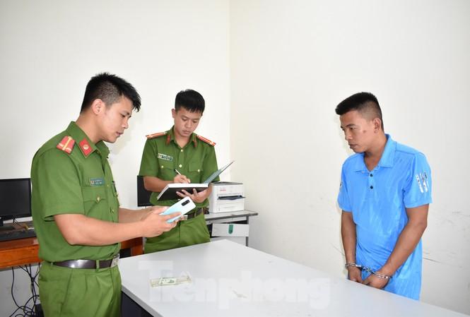 Đối tượng cướp xe ô tô Phạm Văn Vương bị bắt sau 3 giờ gây án - Ảnh: Hoàng Long