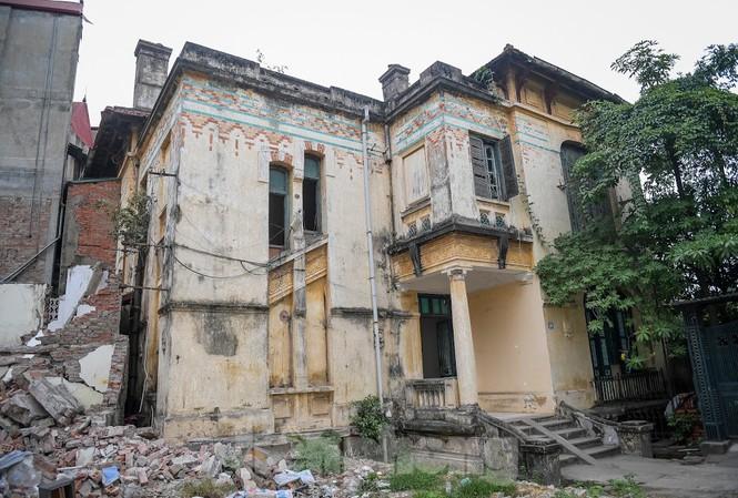 Ngôi biệt thự cổ tại địa chỉ số 128C Đại La từng là Trạm Phát sóng Bạch Mai.