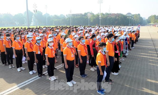 344 đại biểu Đại hội Cháu ngoan Bác Hồ toàn quốc lần thứ IX báo công dâng Bác - ảnh 3