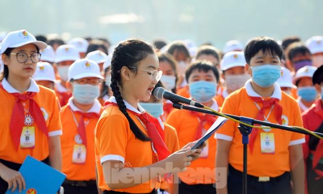 344 đại biểu Đại hội Cháu ngoan Bác Hồ toàn quốc lần thứ IX báo công dâng Bác - ảnh 5