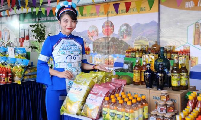 Tuần lễ quýt ngọt biên giới Mường Khương tại Hà Nội - ảnh 2