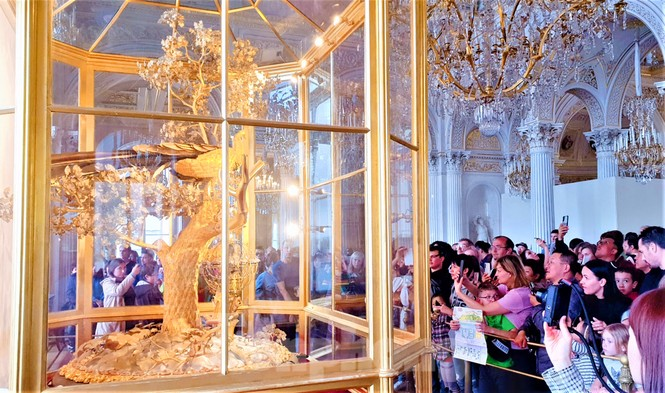 Lạc bước trong Bảo tàng Hermitage diễm lệ - ảnh 7