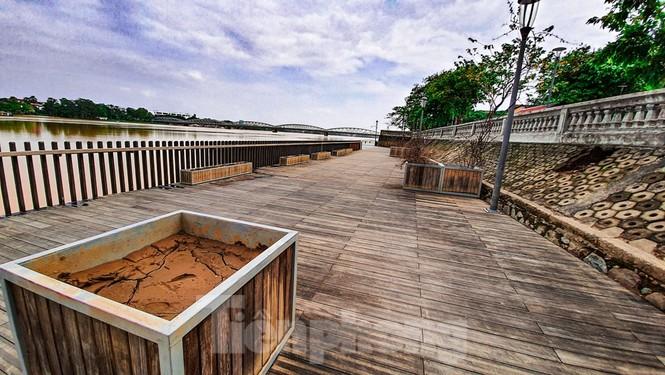 Nhìn gần cầu gỗ lim siêu sang xứ Huế sau vượt lũ báo động 3 - ảnh 12